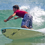 James Weston stand up paddle surfing