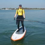 matt argyle stand up paddle in chichester harbour
