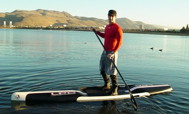 Jay Kincaid Stand Up Paddle boarder
