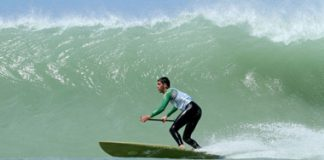 dakhla stand up paddle surfing contest