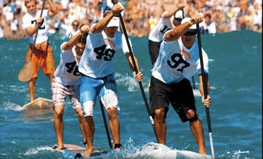 Mitchell vs Ching at the Battle fo the Paddle
