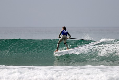 Elliot Dudley SUPing in 2007