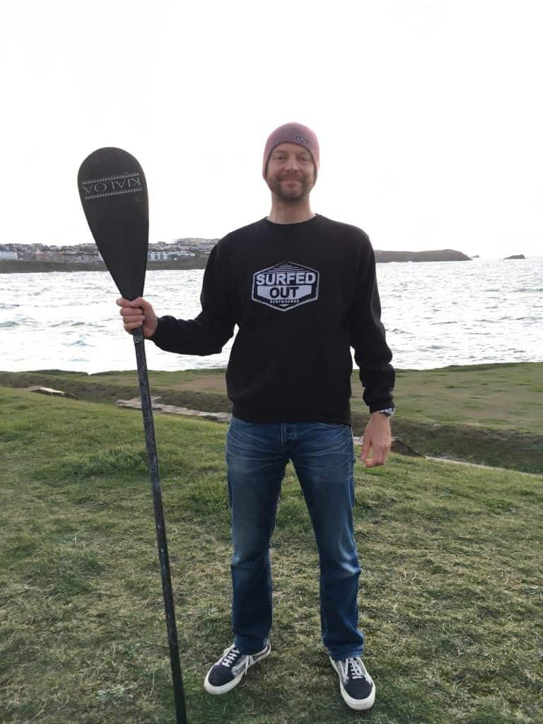 Matt Argyle 2017 BSUPA National SUP Surfing Masters Champion