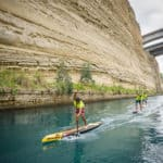 SUP Corinth Canal Race