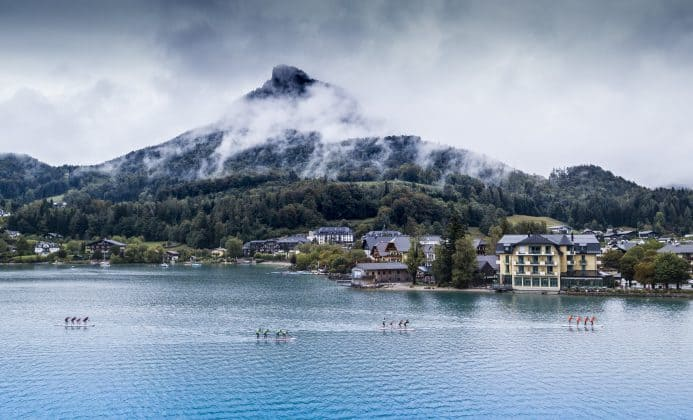 The race in beautiful Fuschk am See, Austria 2018