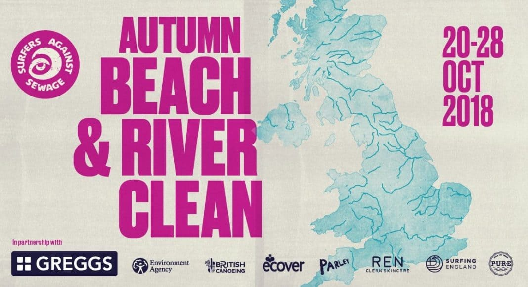 SAS Autumn Beach and River Clean