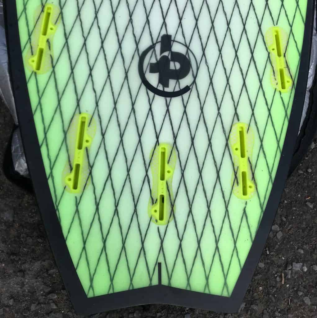 A board with five FSC II inserts.