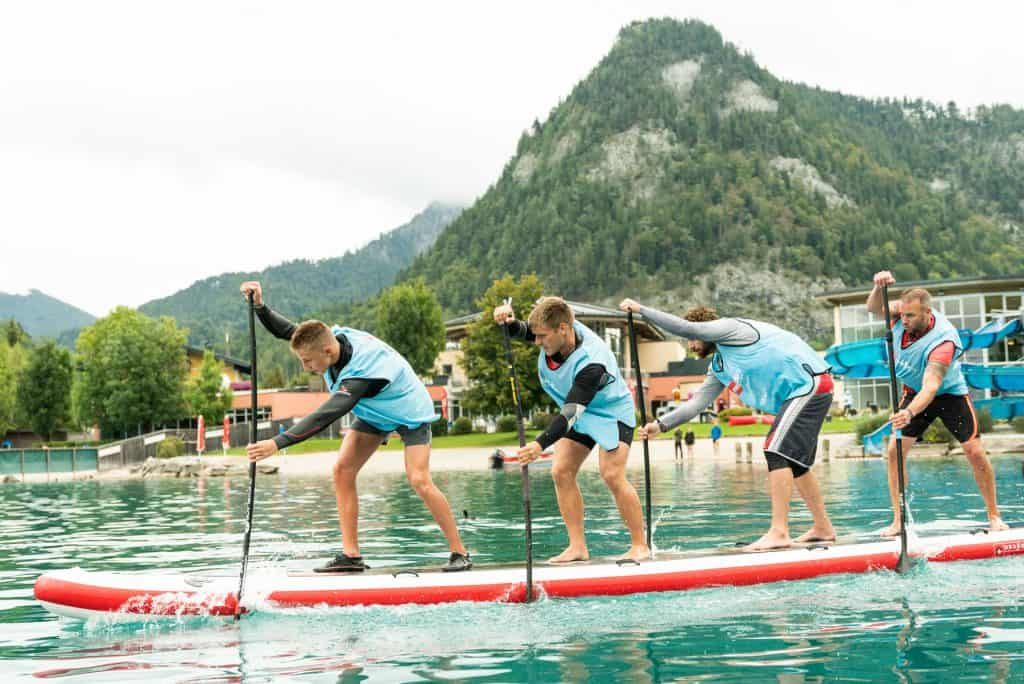 Red Paddle Co Dragon World Championships in Fuschk am See Austria 2018