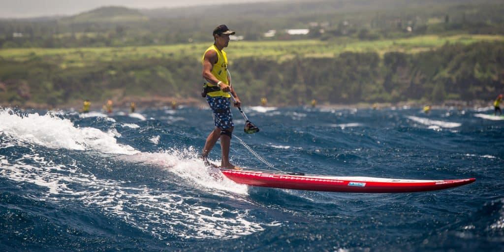 SIC 14ft Bullet V2 enjoying a Maui downwind session