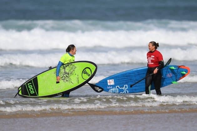 Women's SUP surfing BSUPA 2017
