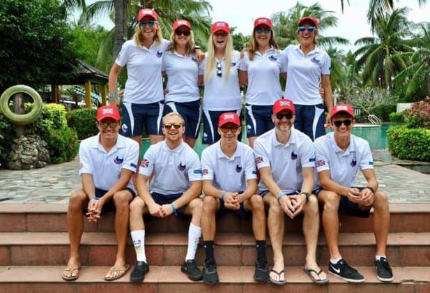 The GB SUP and Prone Team 2018