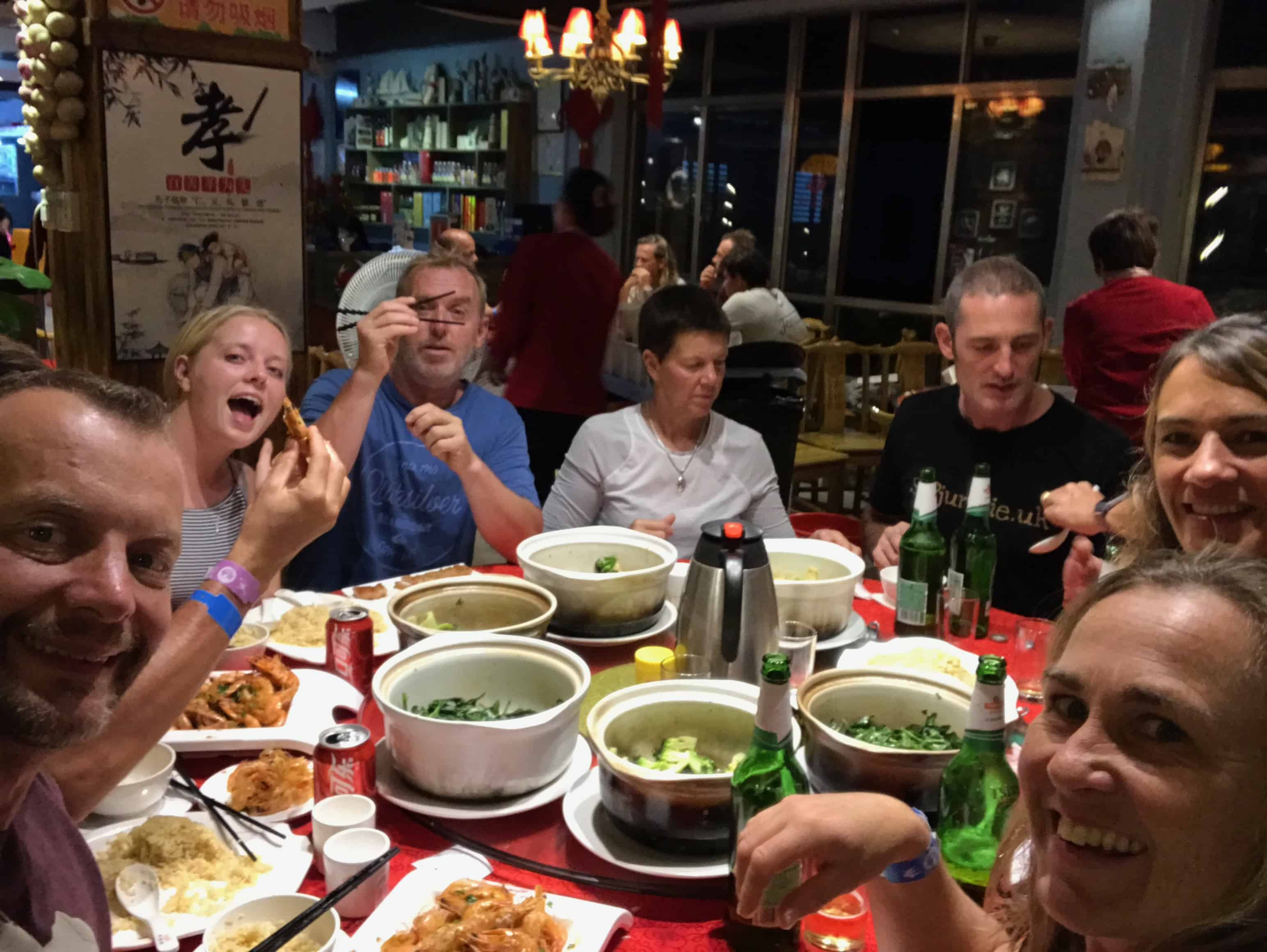 Team feast