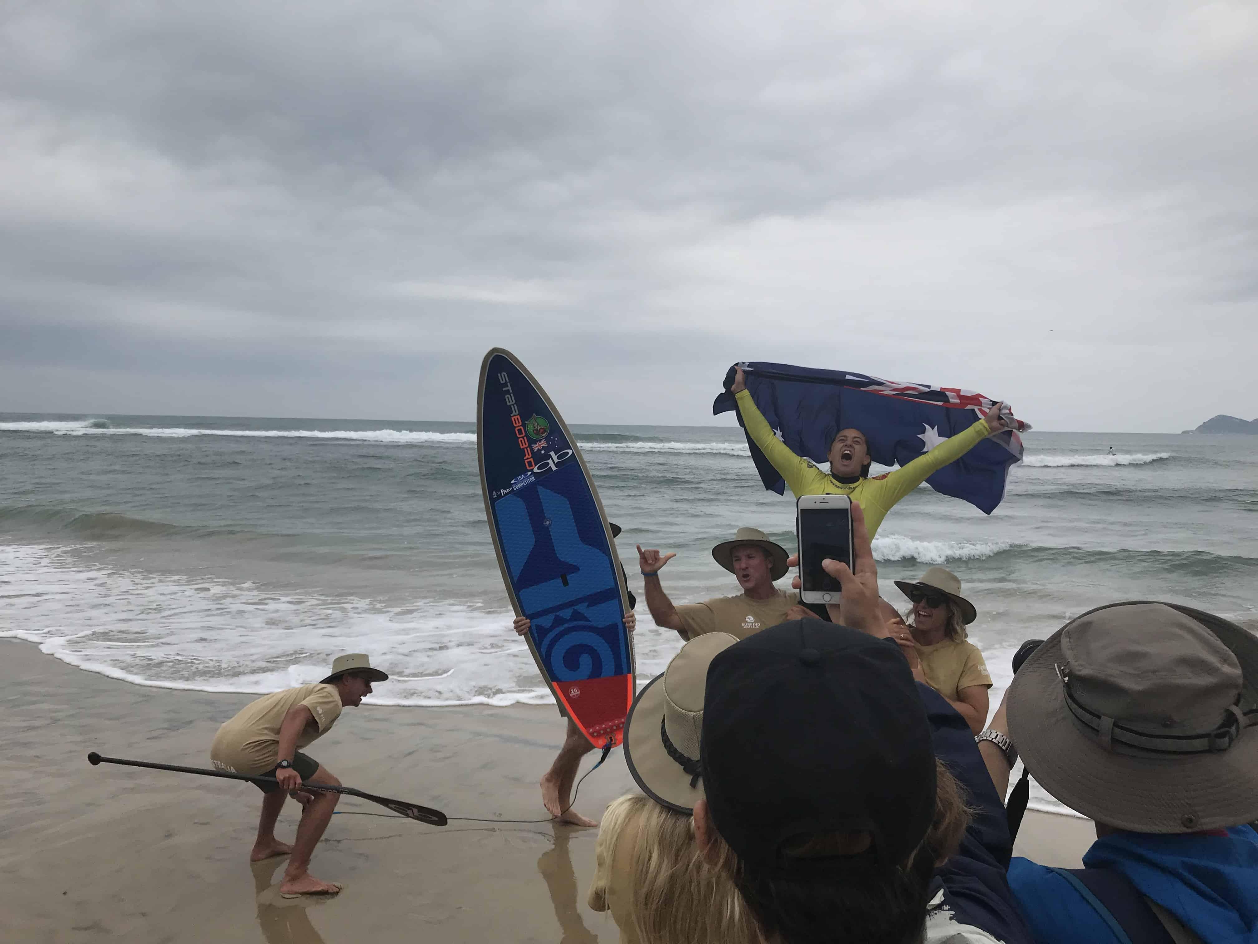 Shakira Westdorp, Australian SUP surf world champion