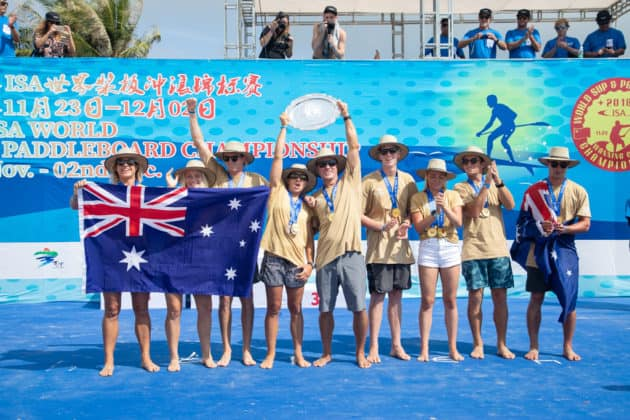 World Champions Team Australia