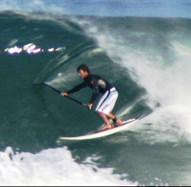 Ivan Van Vuuren Stand Up Paddle Surfing