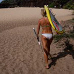 Starboard stand up paddle surfing