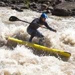 Charlie Macarthur on the Colorado river