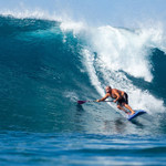 Stand up paddle surfing Mentawais
