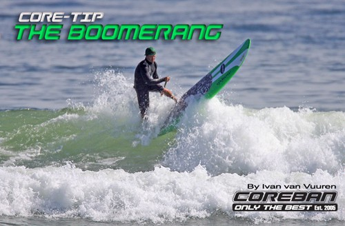 Stand Up Paddle Technique – The Boomerang