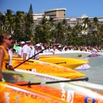 Battle of the Paddle Hawaii Race Start