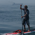 sup-crossing-The English Channel
