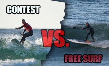 The Anatomy of a SUP Surf Contest