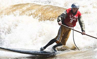 whitewater stand up paddle championship 2011