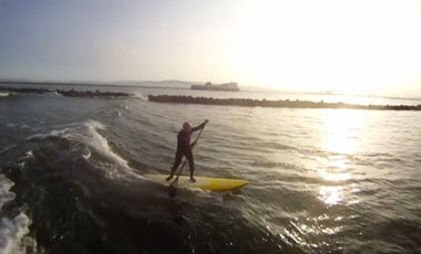 Stand Up Paddle Surfing Dublin Ireland
