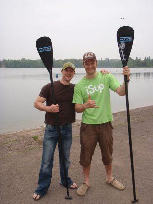 Chris Kenyon and Matt Argyle