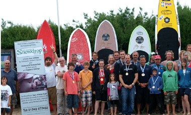 The Witterings Charity SUP Paddle Race – 24th July 2011