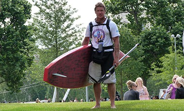 Devizes to Westminster Stand Up Paddle