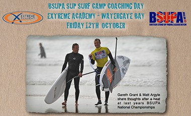 BSUPA SUP Surf Camp Coaching Day – 12th October 2012