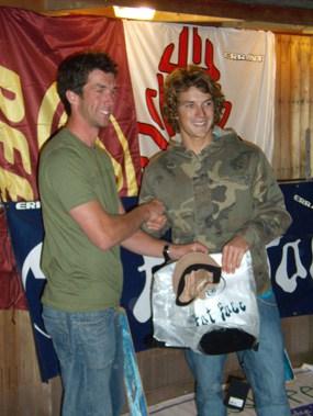 John Hibbard and Elliot Dudley in 2007