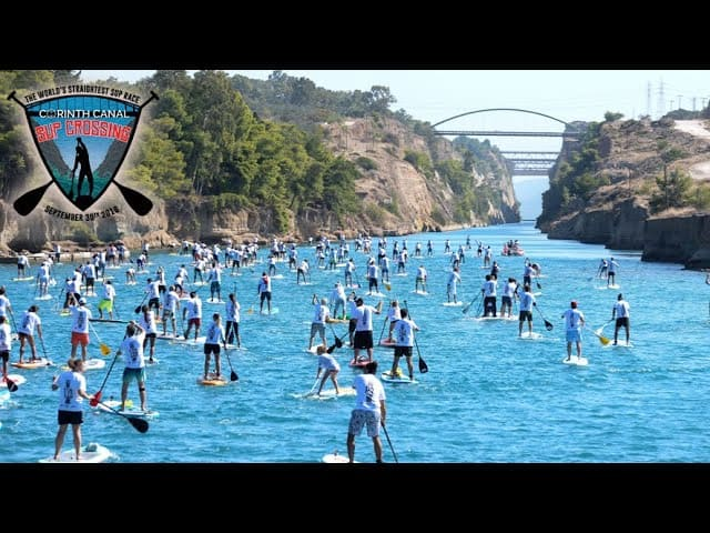 8th Corinth Canal SUP Crossing – Greece September 30th 2018
