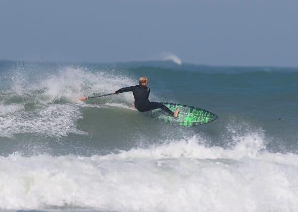 Aaron Rowe going full speed