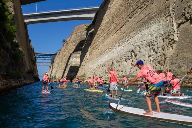 Corinth Canal SUP Race 2018