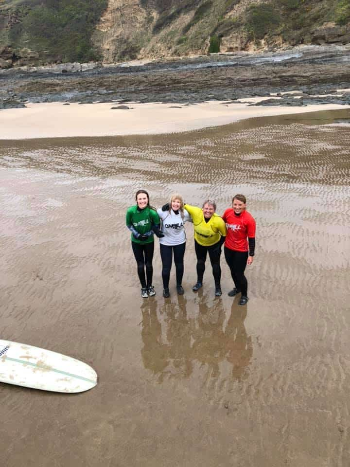 Ladies Longboarding, Emma Davies, Vicky Burley, Stella Briggs, Jen Pen